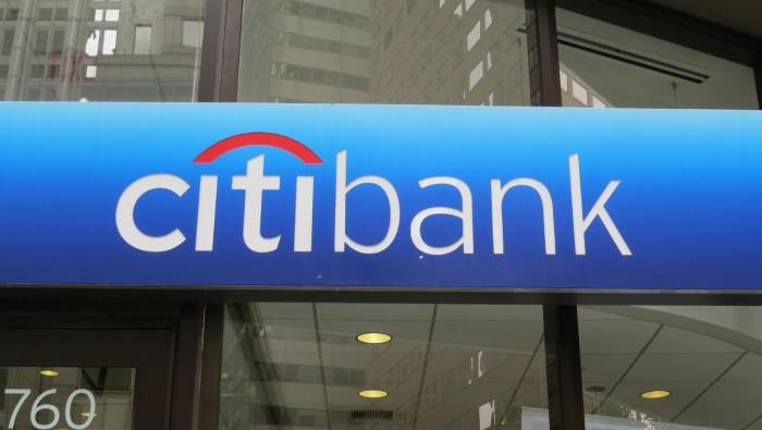 Citi, Citibank logotype