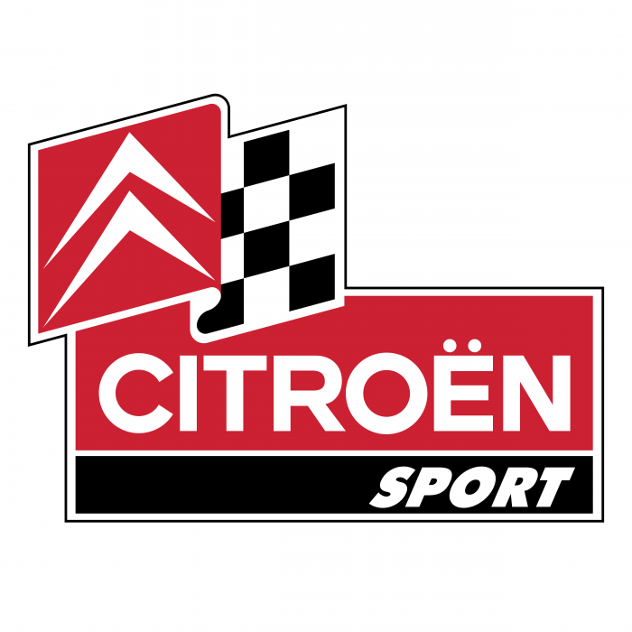 Citroen logo sport red
