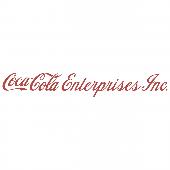 Coca Cola Enterprises inc logo red