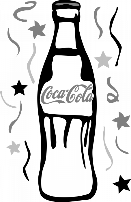 Coca Cola logo bottle
