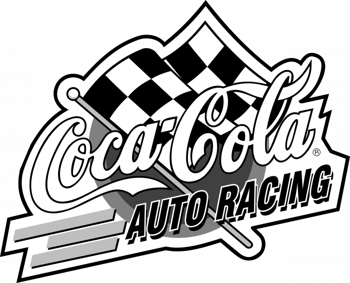Coca Cola logo racing