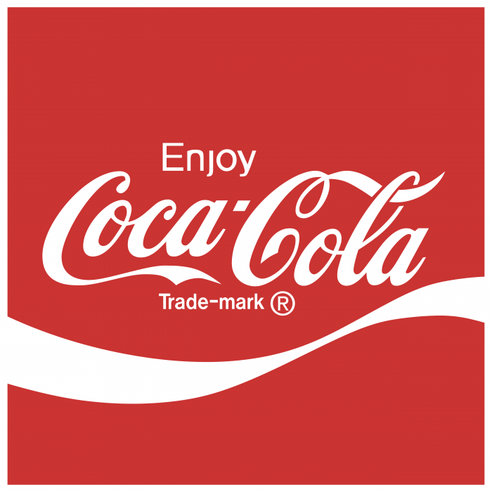 Coca Cola logo red