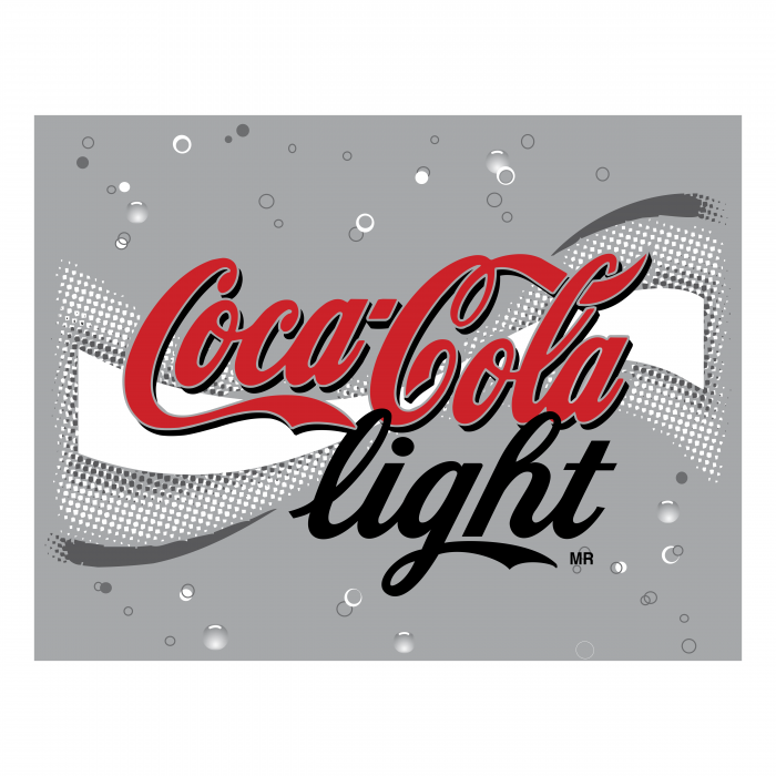 Coca Cola logo silver