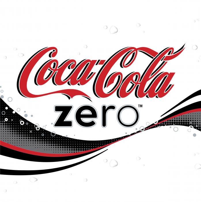 Coca Cola logo zero