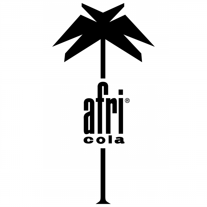 Cola afri logo black