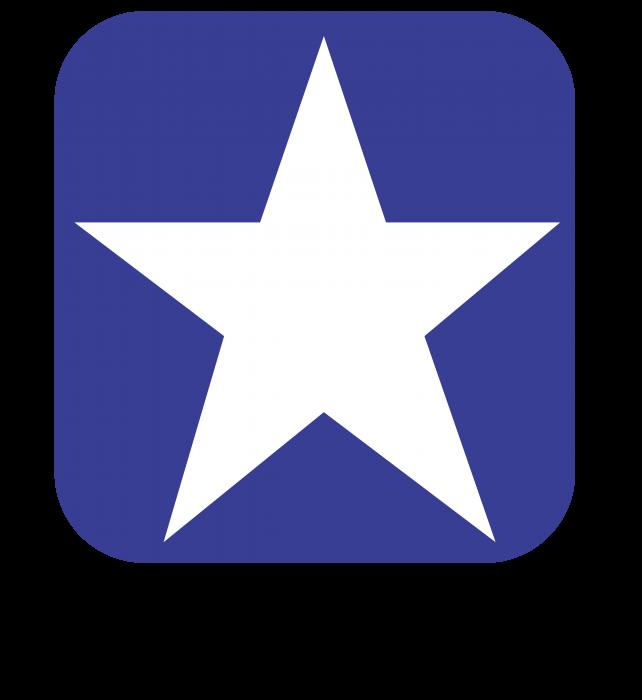 Converse logo blue