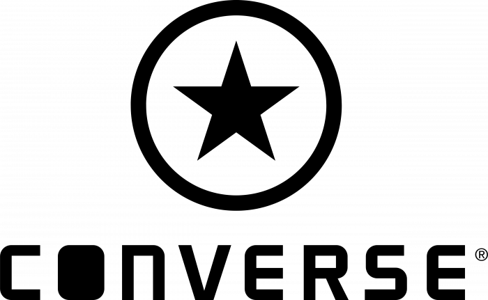 Converse logo circle