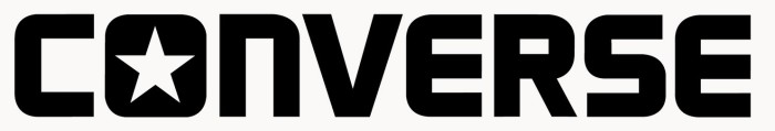 Converse logo - white background