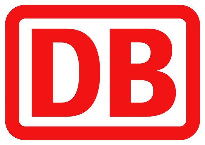 DB, Deutsche Bahn AG logo, logotype, emblem