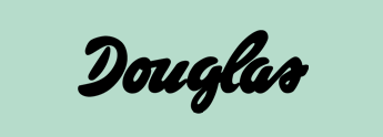 Douglas logotype from the official website