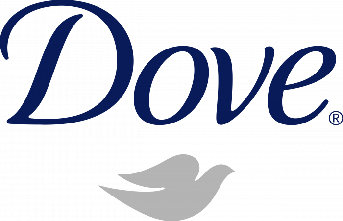 Dove logo silver