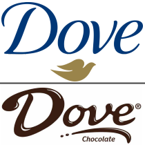 Dove logo - two different brands