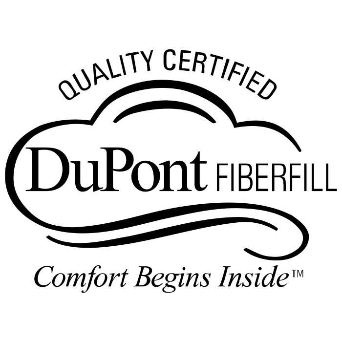 Du Pont logo fiberfill