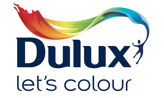 Dulux logo, logotype, emblem