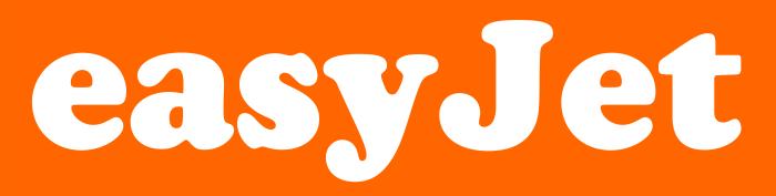 EasyJet emblem, logotype, logo 3