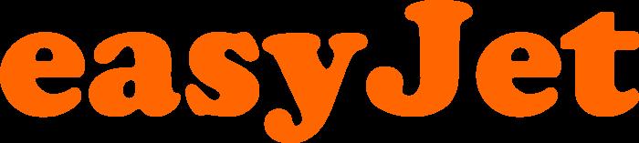 EasyJet logo, logotype, emblem