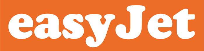 EasyJet logotype, logo, emblem 2
