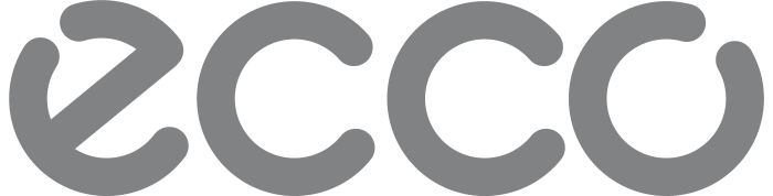 Ecco logo, gray color