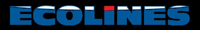 Ecolines logo, logotype, slogan