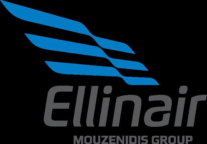 Ellinair logo, logotype, emblem