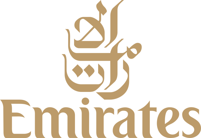 Emirates Airlines logotype, logo, emblem, 2