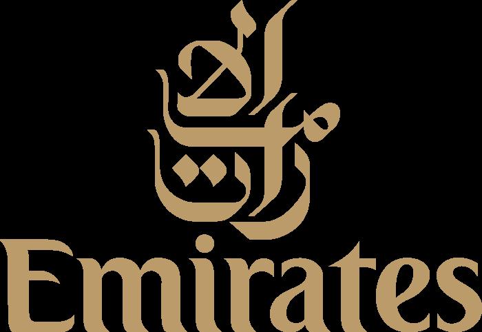 Emirates Airlines logotype, logo, emblem, 2