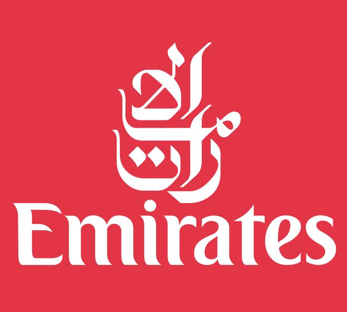 Emirates emblem, logotype, logo, 3