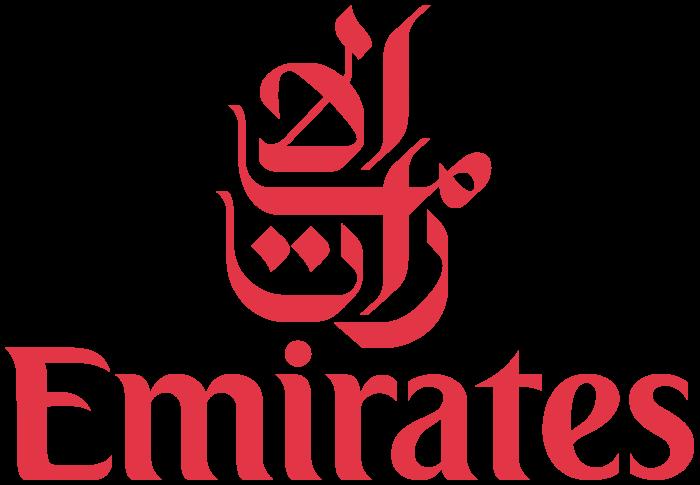 Emirates logo, emblem, logotype