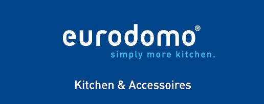Eurodomo logo, blue