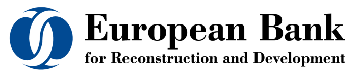 European Bank for Reconstruction and Development (EBRD) logo, wordmark