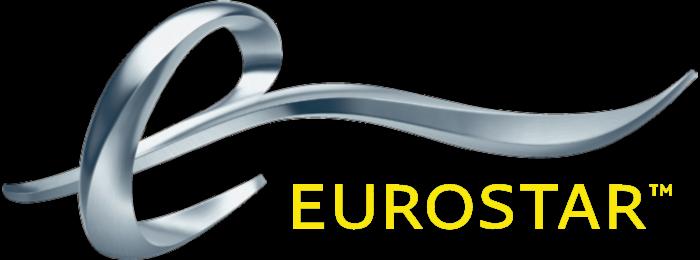 Eurostar logotype, logo, emblem, yellow