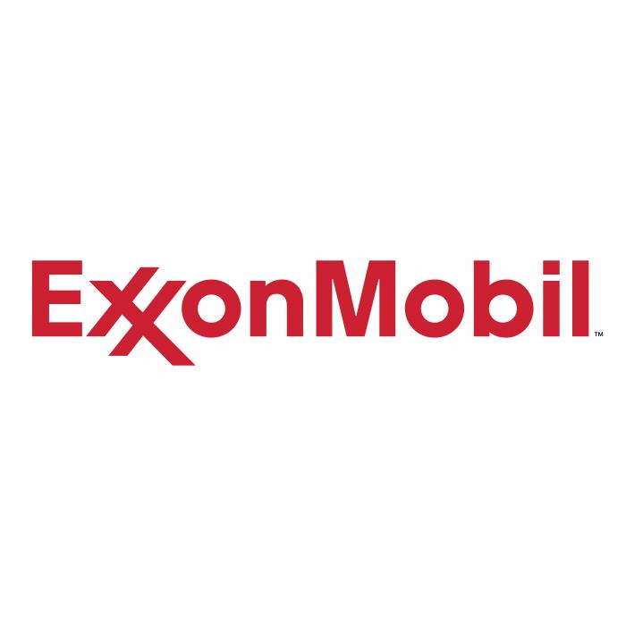 Exxon Mobil logo red