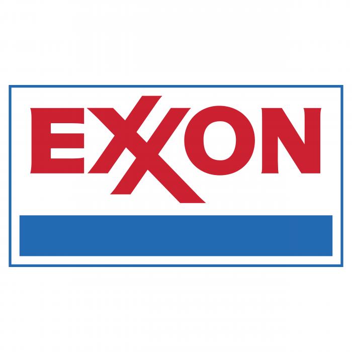 Exxon logo blue