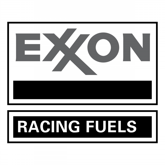Exxon logo grey