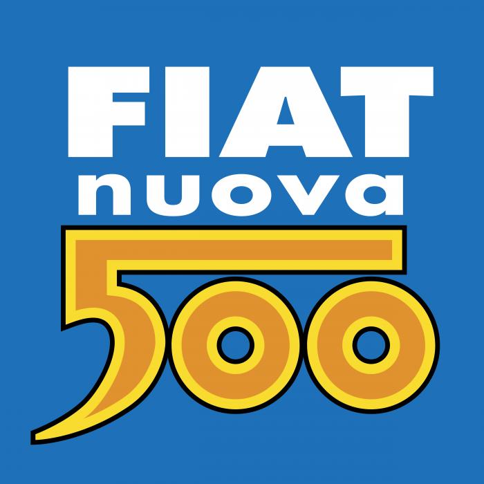 Fiat Nuova logo 500