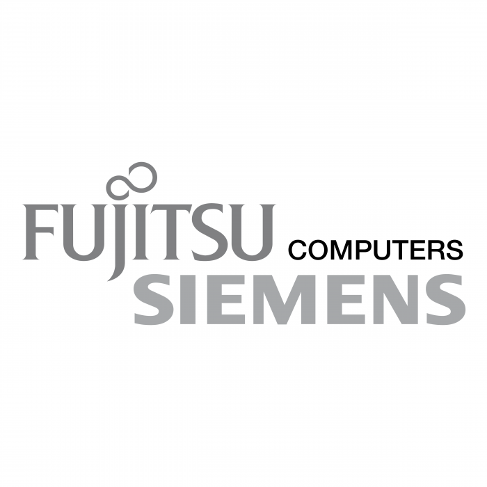 Fujitsu Siemens Computers logo grey