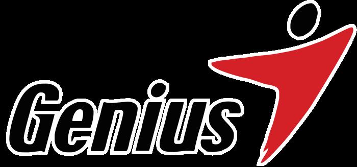 Genius logo, logotype, emblem