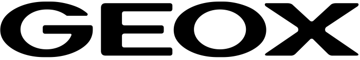 Geox logo, wordmark