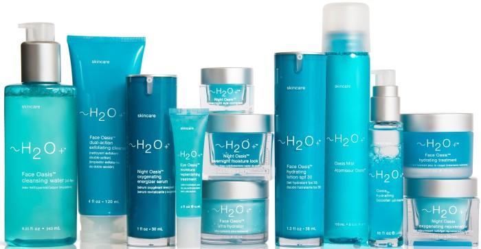 H2O plus cosmetics
