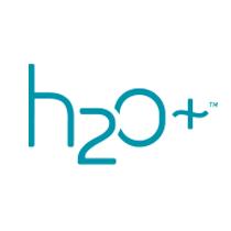 H2o+ plus logo