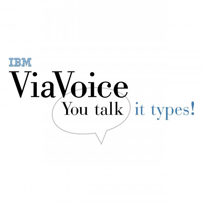 IBM logo viavoice