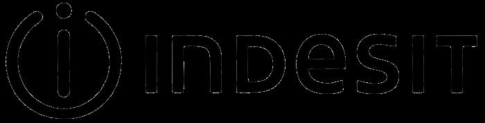 Indesit logo, black