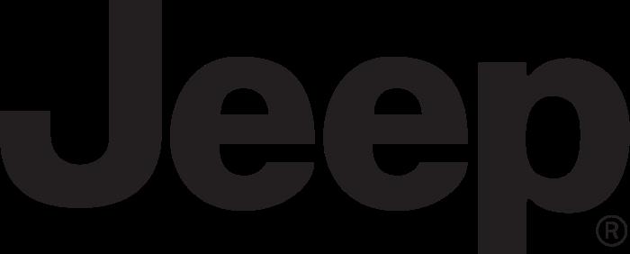 Jeep logo, black