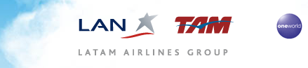 LAN and TAN Airlines website logo