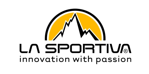 La Sportiva logo, white