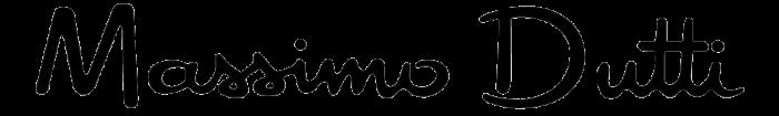 Massimo Dutti logo, black