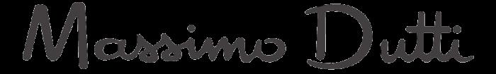 Massimo Dutti logotype, gray