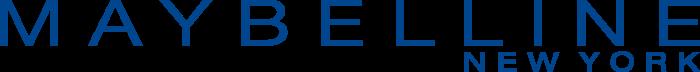 Maybelline New York logo blue