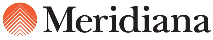 Meridiana logo, logotype, emblem