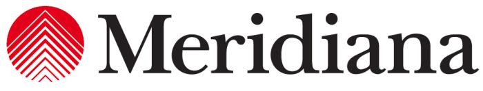 Meridiana logotype red